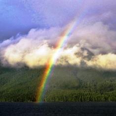 Rainbow Views on the Inner Passage