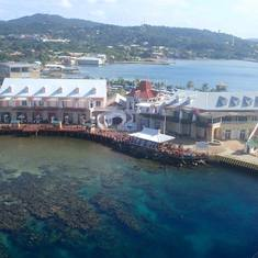 port in Roatan, Honduras