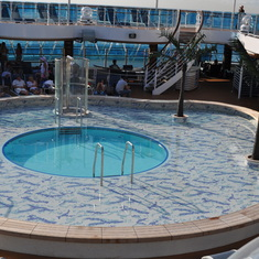 Pool for kids on Royal Princess