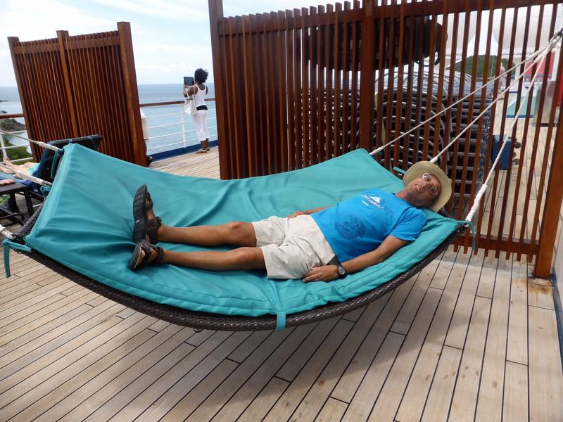 Life is good! Ship hammock - Carnival Liberty