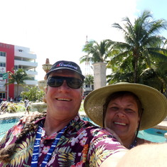 Playing tourist in Cozumel