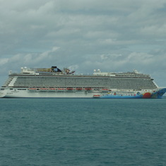 NCL Breakaway at Dockyard, Bermuda