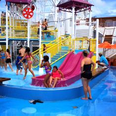 Lido Deck Water Park