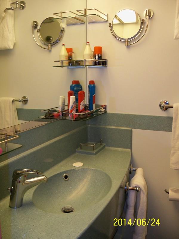 Bathroom. - Carnival Splendor