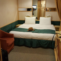 Our interior stateroom