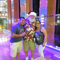 Santa w/ Tony & Elizabeth