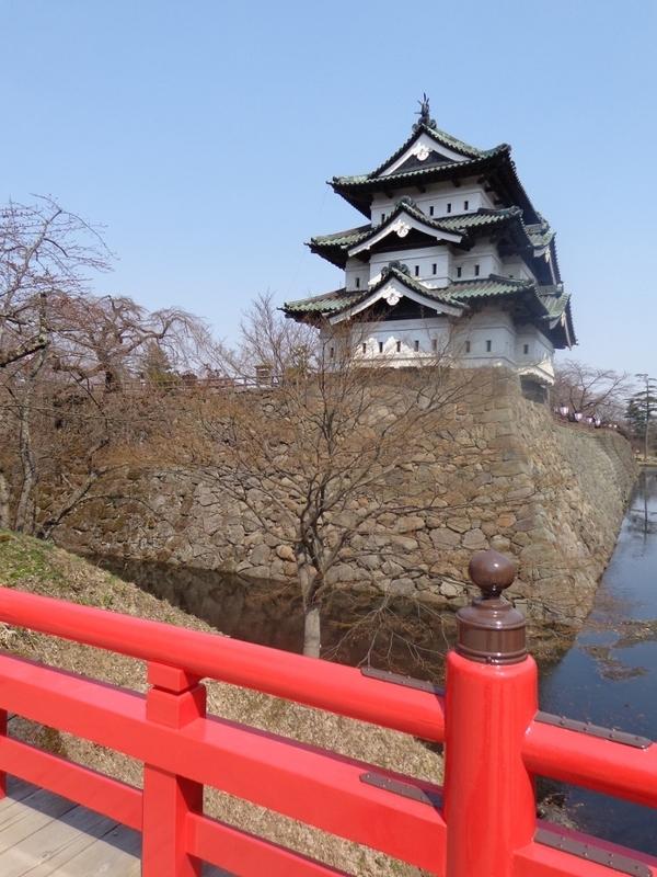 Hirosaki Castle Town, Aomori Japan