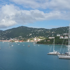St. Thomas in the morning