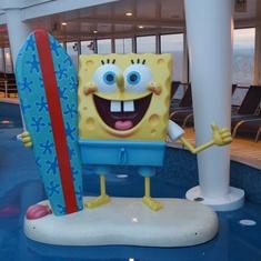 SpongeBob on The Breakaway