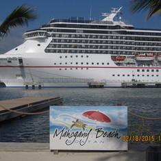 Mahogany Bay, Roatan, Bay Islands, Honduras - Pride