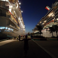 Nassau, Bahamas - Do we gotta go?