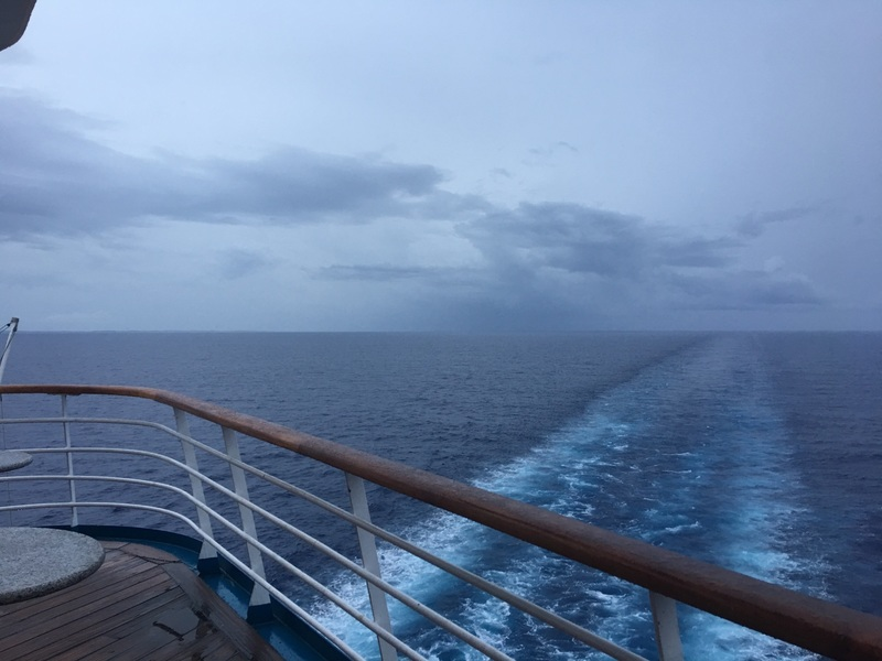 View from Aft - Carnival Sensation