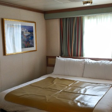 Oceanview Stateroom on Emerald Princess