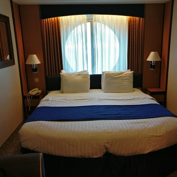 Large Oceanview Stateroom on Brilliance of the Seas