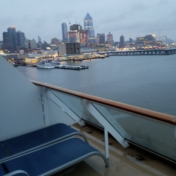 Aft-Facing Balcony Stateroom on Norwegian Breakaway