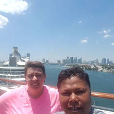 Circle C on Carnival Victory