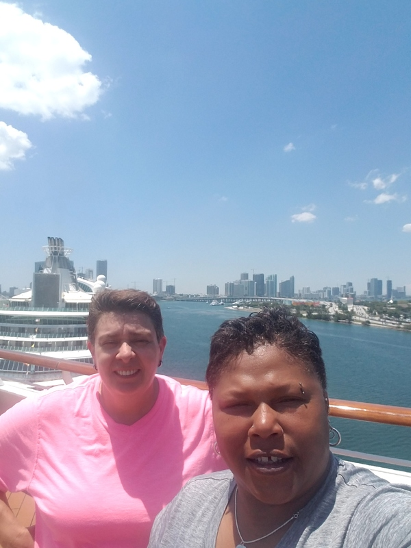 leaving Miami - Carnival Victory