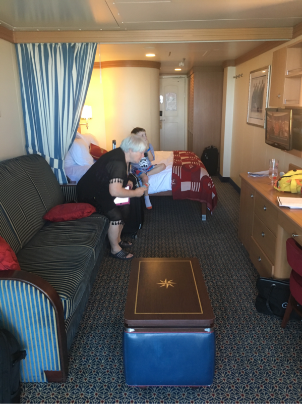 Balcony Cabin 7102 On Disney Dream Category 4c