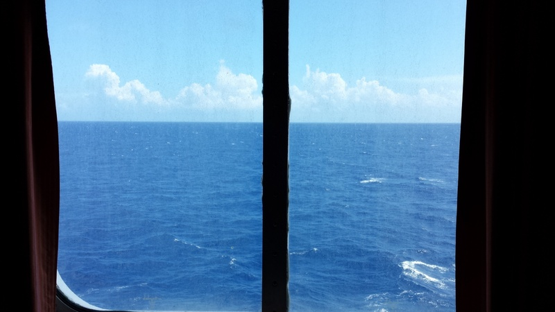 Carnival Sensation cabin E163 - Great views