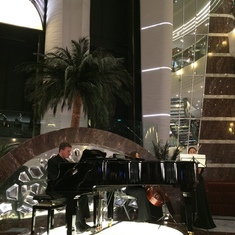 classical trio played every evening
