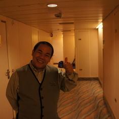 Ricardo, Stateroom Attendant