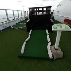 Mini Golf on Carnival Splendor