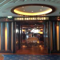 The Safari Club on Jewel of the Seas