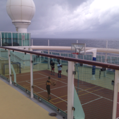 Sports Court on Jewel of the Seas