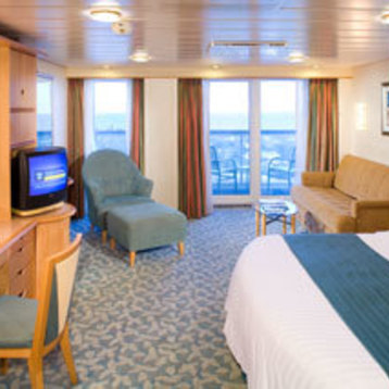Junior Suite with Balcony on Adventure of the Seas