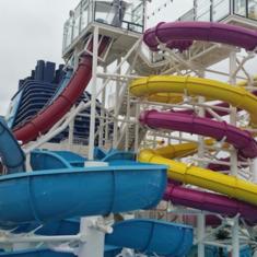 Slide on Norwegian Breakaway