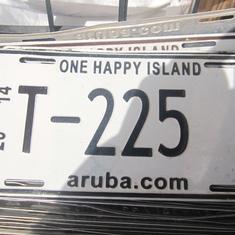 Oranjestad, Aruba - A = Aruba