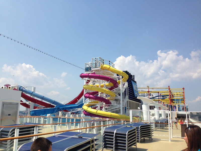 Aqua Park on Norwegian Breakaway