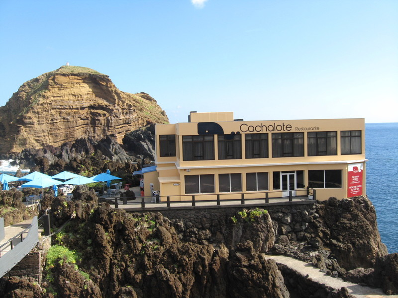 Cachalote Restaurante--Porto Moniz - Seven Seas Mariner