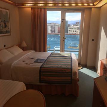 Premium Balcony Stateroom on Costa Mediterranea