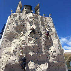 Rock Climbing Wall on Radiance of the Seas