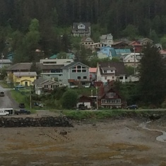 Ketchikan with tide out