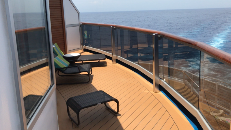 Balcony Cabin 7450 On Carnival Vista Category Hm