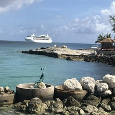 Dock at Cococay