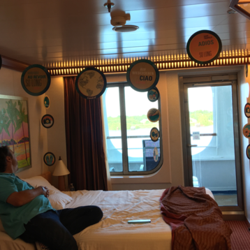 Cove Balcony Stateroom on Carnival Dream
