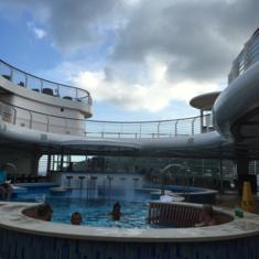 Quiet Cove Adult Pool on Disney Fantasy
