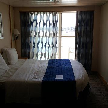 Deluxe Balcony Stateroom on Navigator of the Seas