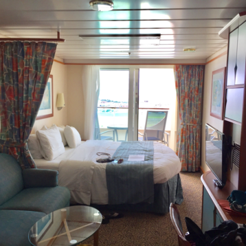 Superior Balcony Stateroom on Adventure of the Seas