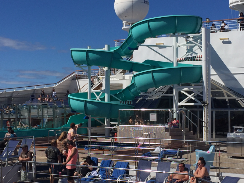 pool time - Carnival Freedom