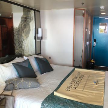 Mid-Ship Balcony Stateroom on Norwegian Pearl