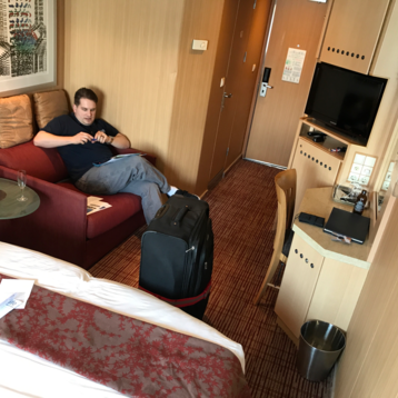 Oceanview Stateroom on Celebrity Infinity