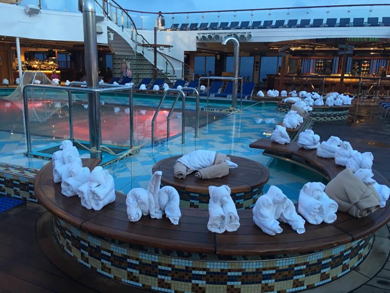 Azure Lido Pool on Carnival Glory