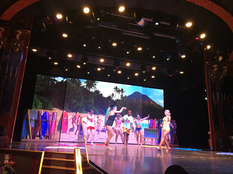 60's Beach Party Show is fun - Carnival Glory