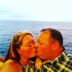 Kissing at sea