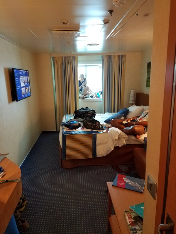 Oceanview Cabin 1392 On Carnival Vista Category 6y