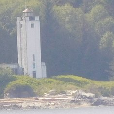 Light House (1.5 miles away)
